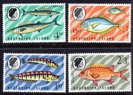 ASCENSION - 1970 FISHES 3RD SERIES SET (4V) FINE MNH ** SG 126-129 - Ascension