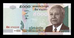 Camboya Cambodia 5000 Riels 2007 Pick 55d SC UNC - Cambodia