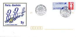 France 1997, Cycling / Cyclisme / Paris-Roubaix / Stationery / Entier Postal - Cycling