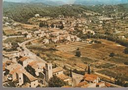 C.P. -  PHOTO - LA COLLE SUR LOUP - L'EGLISE - VUE GENERALE - 5 K - SOFER - Other Municipalities