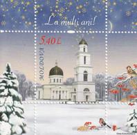 MOLDAVIE - BLOC N°55 ** (2010) Noël - Moldova