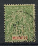Moheli (1906) N 4 (o) - Oblitérés