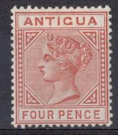 Antigua 1886 4p Victoria Issue #16* Neuf Avec Charnière - 1858-1960 Kronenkolonie