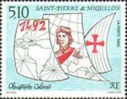 SAINT PIERRE ET MIQUELON 1992 N°569  CHRISTOPHE COLOMB - Neufs