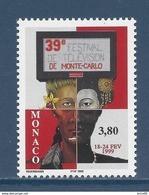 ⭐ Monaco - YT N° 2189 - Neuf Sans Charnière - 1999 ⭐ - Unused Stamps
