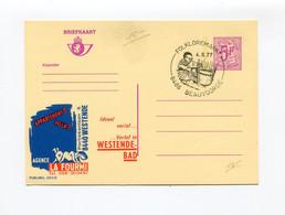 1977 Kaart Fr. Nr 2672N LA FOURMI Westende - Stempel FOLKLOREMARKT 8486 BEAUVOORDE  - Insect - Mandenmaker - Publibels