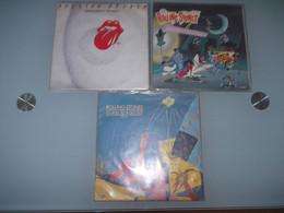 (3) .LOT DE 3  SP THE ROLLING STONES. - Rock