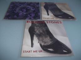 (4) .LOT DE 3  SP THE ROLLING STONES. - Rock
