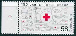 BRD - Mi 2998 ✶✶ (A) - 58C      150 Jahre Rotes Kreuz - Neufs