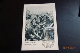 CARTE MAXI  Tranchée A VERDUN - 1950-59