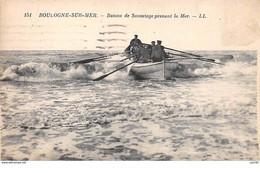 62.n°59203.boulogne Sur Mer.bateau De Sauvetage Prenant La Mer - Boulogne Sur Mer