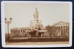 Photographie Ancienne Félix FESCOURT - Promenade De NÎMES - Esplanade - 1870-75 - Alte (vor 1900)