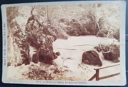 Photographie Ancienne Avt 1900 - BRIDE-les-BAINS - Le Bois De Cythère - Librairie F.Ducloz (format 11x16,5) - Alte (vor 1900)