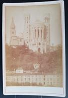 Photographie Ancienne Avt 1900 - LYON - N.Dame De Fourvière - Cliché Amateur ? (format 11x16,5) - Alte (vor 1900)