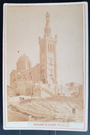Photographie Ancienne Avt 1900 - MARSEILLE - N.Dame De La Garde (format 11x16,5) - Alte (vor 1900)