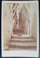 Photographie Ancienne Avt 1900 - Venelle Non Localisée … (Région Des ALPES ?)(format 11x16,5) - Alte (vor 1900)
