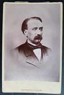 Photographie Ancienne Avt 1900 - PORTRAIT D'HOMME - Photographe BLAIN Frères / VALENCE (format 11x16,5) - Alte (vor 1900)