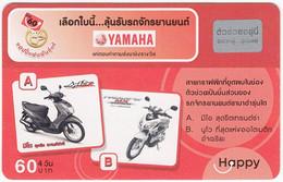 THAILAND I-004 Prepaid Happy - Traffic, Motorcycle - Used - Thailand