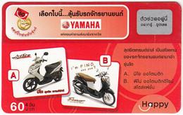 THAILAND I-005 Prepaid Happy - Traffic, Motorcycle - Used - Thailand