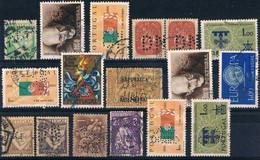 Portugal, Diferentes Selos E Perfurações, Used - Used Stamps
