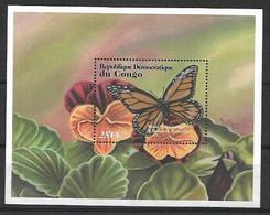 CONGO 2001 BUTTERFLIES  MNH - Butterflies