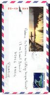 POLYNESIE. N°187 De 1982 Sur Enveloppe Illustrée Ayant Circulé. Atoll De Tupai. - Briefe U. Dokumente