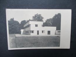 Oude FOTOPOSTKAART Wit - Zwart VITA   ET  PAX  Residential College  SCHOTENHOF - Schoten