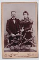 FOTOGRAAF  DETON - CORNAND  CARLEROI  16.50 X 10.50 CM  2 SCANS - Alte (vor 1900)