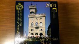 San Marino Divisionale 2004 FDC In Confezione Originale - San Marino
