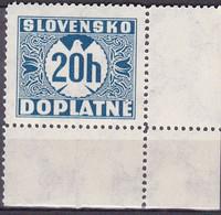 Slowakije1940-41, Postfris MNH, Port Stamps - Ungebraucht