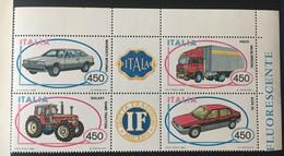 1984 - Italia - Autoveicoli: Maserati Biturbo,Galaxy, Same Trattori, Iveco 190.38 Special, Alfa 33 - - 1981-90: Mint/hinged