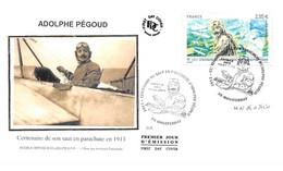 FRANCE. FDC. N°207276. 13/06/2013. Cachet Montferrat. Adolphe Pégoud. Signé Goffin - 2010-....