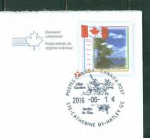 Lilas / Lilac; Ste Catherine De Hatley; Timbre Scott # 1546 Stamp; Entier Postal Env. Postal Stationery (4350) - Cartas