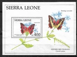 SIERRA LEONE 1992 BUTTERFLIES MNH - Butterflies