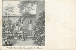 92* CLICHY Arbre Plante Par St Vincent De Paul     RL10.0632 - Clichy