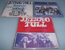 LOT DE 3  SP  JETHRO TULL. - Rock