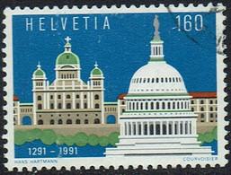 Schweiz 1991, MiNr 1442, Gestempelt - Used Stamps