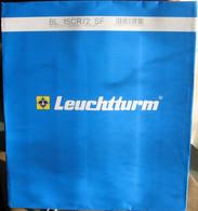 """Leuchtturm - Feuilles BLANCO Pour Carnet """"CROIX-ROUGE"""" (Avec 2 Pochettes) (pqt De 12 Feuilles) - Fogli Prestampati"""
