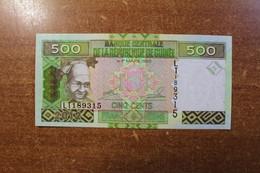 Guinea 500 Francs 2012 UNC RK - Guinea-Bissau