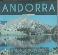 ANDORRA EUROS ESTUCHE CON LA SERIE COMPLETA 8 MONEDAS DEL AÑO 2017. - Andorra
