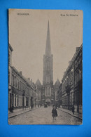 Iseghem 1921 : Rue St-Hilaire Animée - Izegem