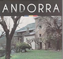 ANDORRA EUROS ESTUCHE CON LA SERIE COMPLETA 8 MONEDAS DEL AÑO 2019. - Andorra