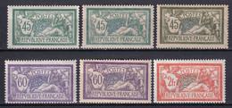 MERSON - YVERT N°143/145 NUANCES + GC ** MNH - COTE = 520 EUR. - 1900-27 Merson