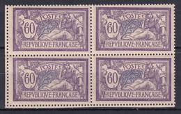 MERSON - YVERT N°144 BLOC De 4 ! ** MNH - - 1900-27 Merson