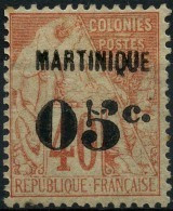Martinique (1888) N 14 * (charniere) - Neufs