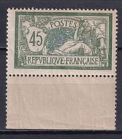 MERSON - YVERT N°143 BORD DE FEUILLE ! ** MNH - COTE = 120 EUR - 1900-27 Merson