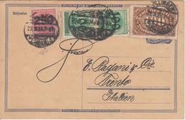 DR-Infla - 250 Tsd./500 U.a. Karte N. ITALIEN Villingen - Trento 29.9.23 - Cartas
