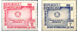 Ref. 307507 * MNH * - DOMINICANA. 1955. ROTARY . ROTARY - República Dominicana