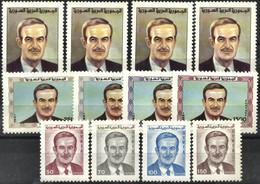 SYRIA, 1990, PRESIDENT HAFEZ EL ASSAD, YV#904-15, MNH - Syria