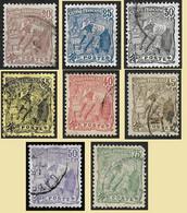 GUYANE  1904 -  YT 55 à 62 La Série Laveur D'or - Oblitérés - Cote 10.20e - Used Stamps